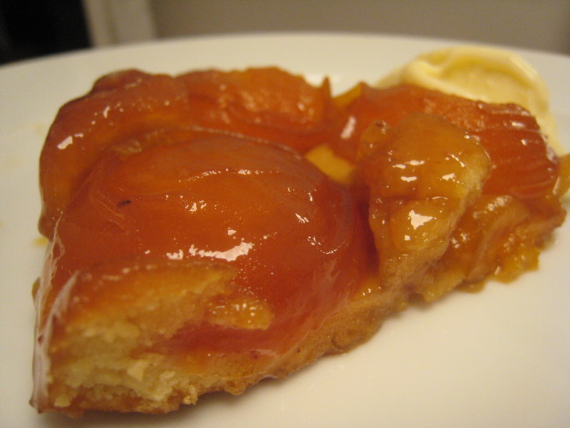 a moveable feast tarte tatin aux abricots. Black Bedroom Furniture Sets. Home Design Ideas